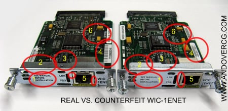 Counterfeit Cisco WIC-1DSU-T1