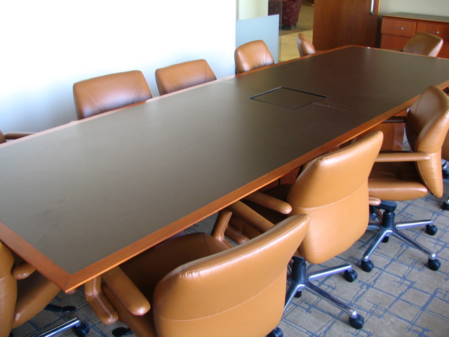 Law Office Auction Conference Tables - Large square conference table