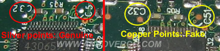copper points on WIC-1ENET comparison