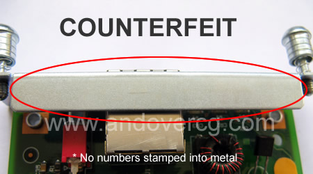 EMBEDDED NUMBERS WIC COUNTERFEIT
