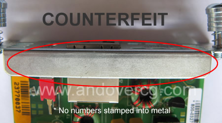 EMBEDDED NUMBERS COUNTERFEIT II