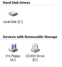 Finding Hard Drive Size